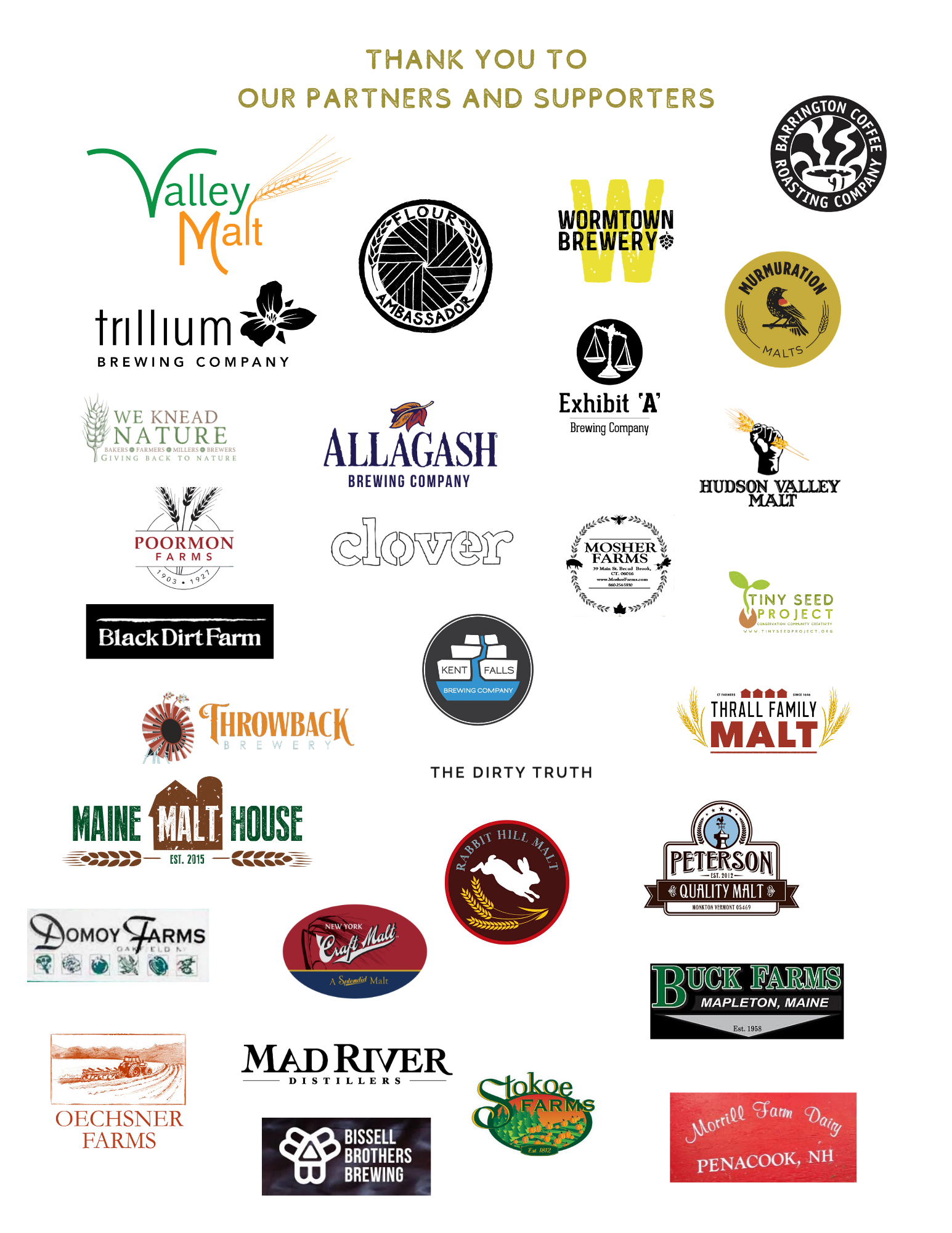 Northeast Grainshed Symposium Partners and Sponsors